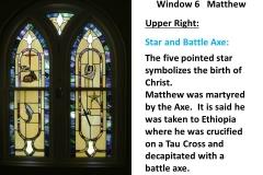 Stain Glass Window 6